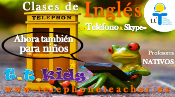Yes! Telephoneteacher has classes for children call for a free trial: (34) 911 014 146